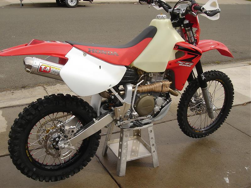 Honda Crf 80 >> Just about finished... 650R project. - XR600/650 - ThumperTalk