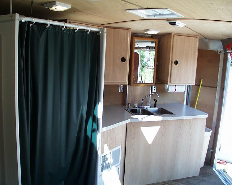 Enclosed Cargo Trailer Camper Conversion