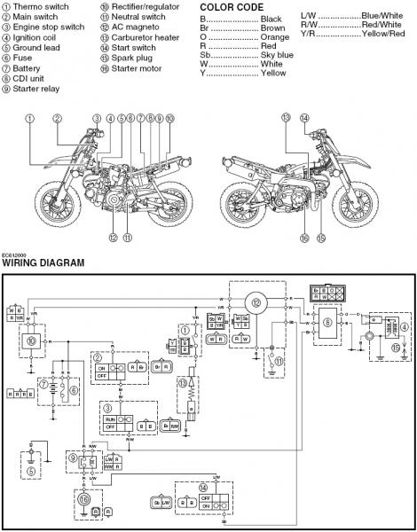 Wiring Key to Killswitch. (TTR50) - General Dirt Bike ... on flywheel key, tractor key, radiator key, wiring diagrams for peterbilt trucks, valve key, ford key, honda key,