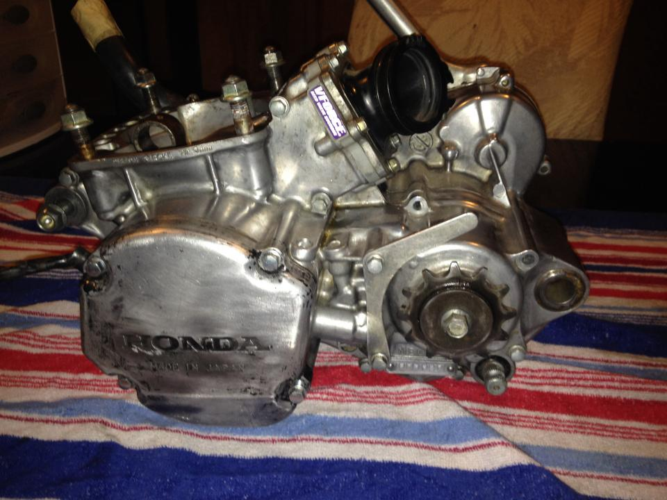02 cr250 rebuilding engine need help? - Honda 2 Stroke