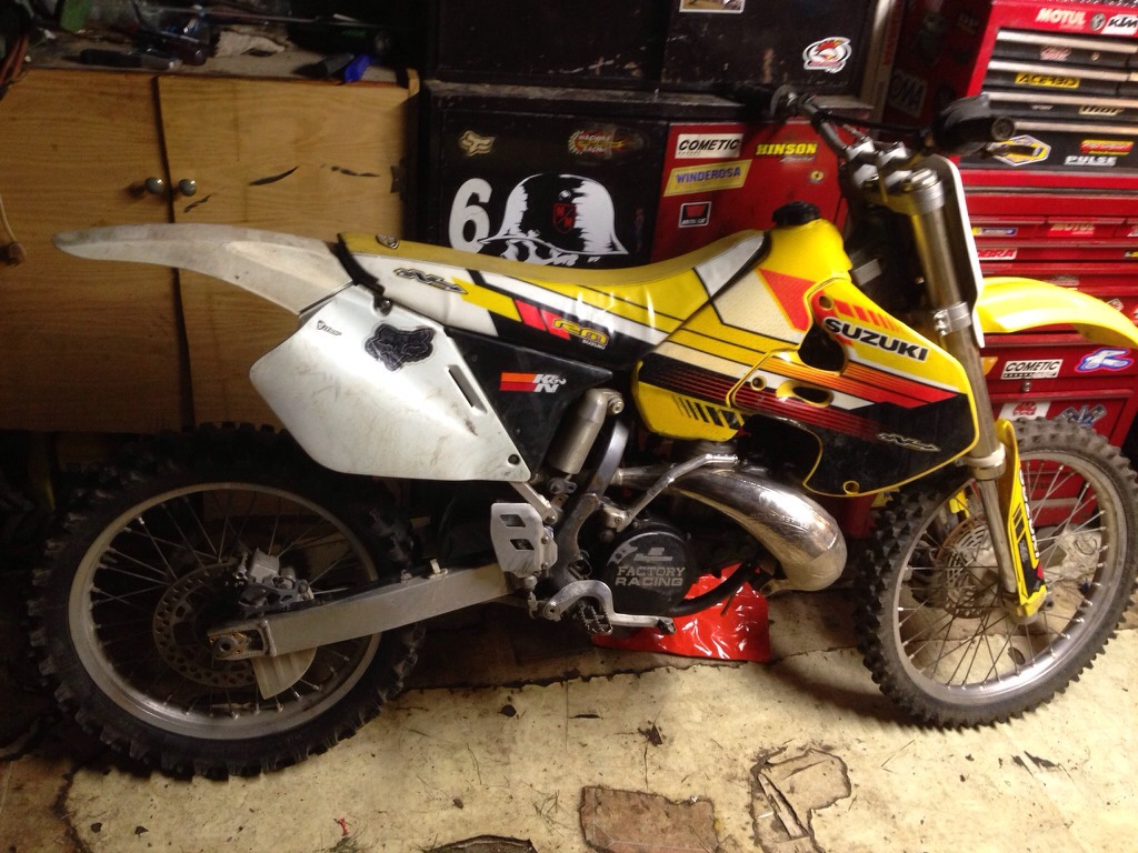 Is a 1986 RM125 would investing in? - Suzuki 2 Stroke