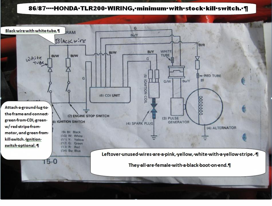 tlr 200 reflex wiring diagram anyone observed trials. Black Bedroom Furniture Sets. Home Design Ideas