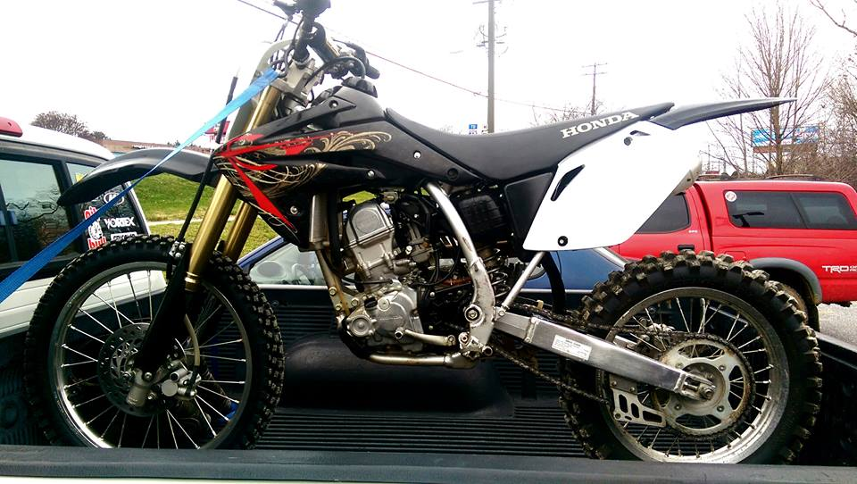 New to the forum new to the bike 09' CRF150R (big wheel