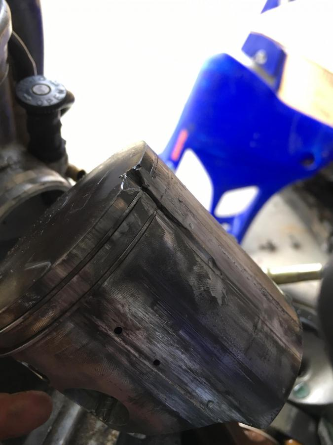 Diagnose this Piston / YZ Engine Failure - Yamaha 2 Stroke - ThumperTalk