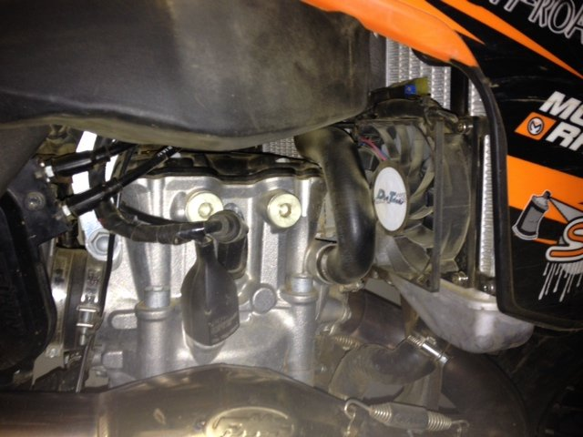 2013 Ktm 450 Sxf Dirt Tricks Fan Install A Few Fyi S