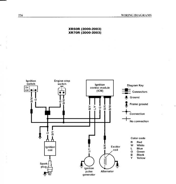 outboard engine diagram clutch xr50 wiring please help xr crf50  xr crf70   amp  crf110  xr50 wiring please help xr crf50  xr crf70   amp  crf110