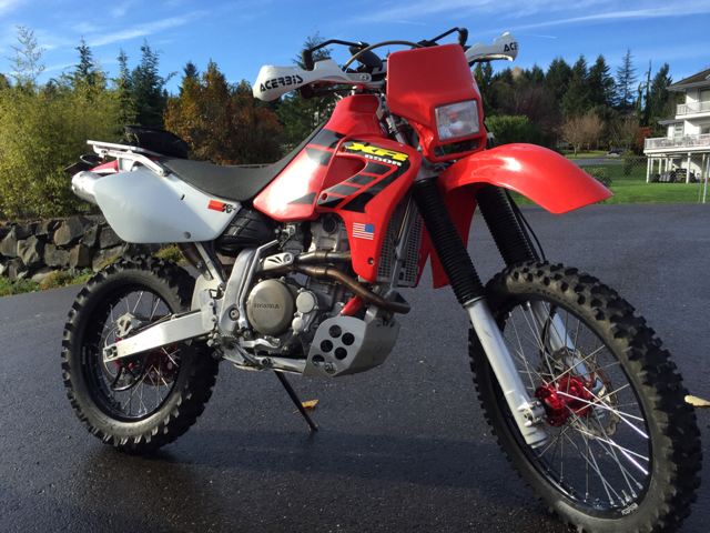 XR650R  Worst dirt bike ever or best dual sport ever