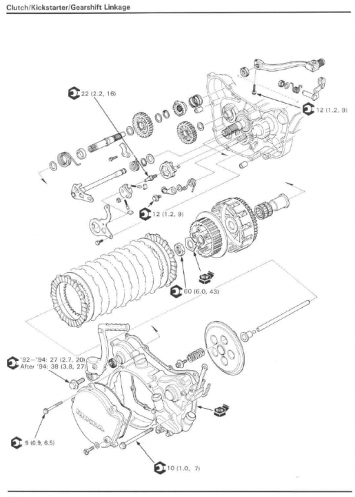 Cr125 Clutch Diagram