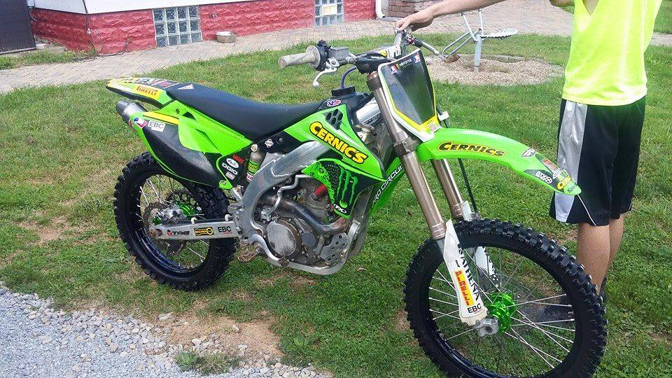 Kx450f Problems  (Old post, moving it to this forum for more