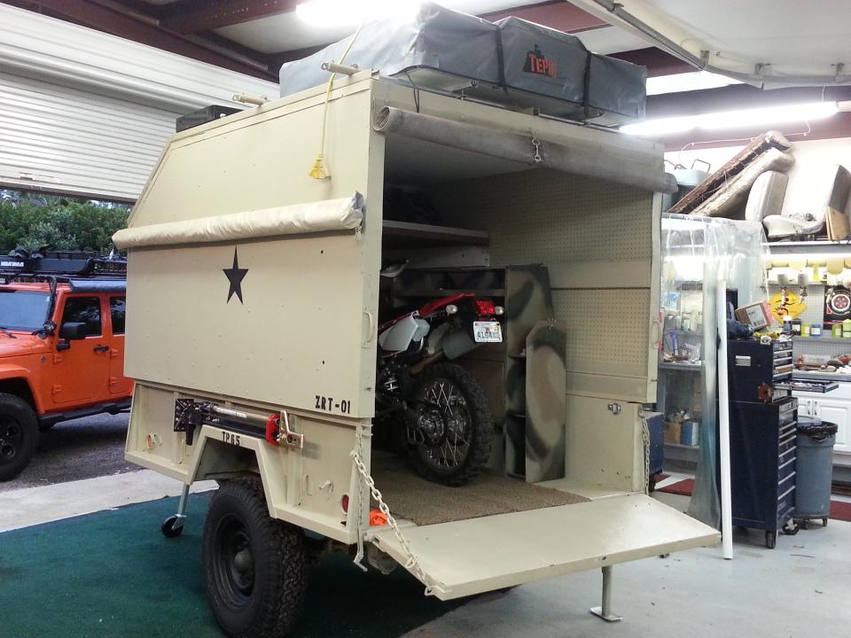hansrober  M101 Trailer For Camping