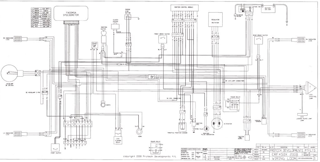 kawasaki klr 650 wiring diagram as well honda regulator