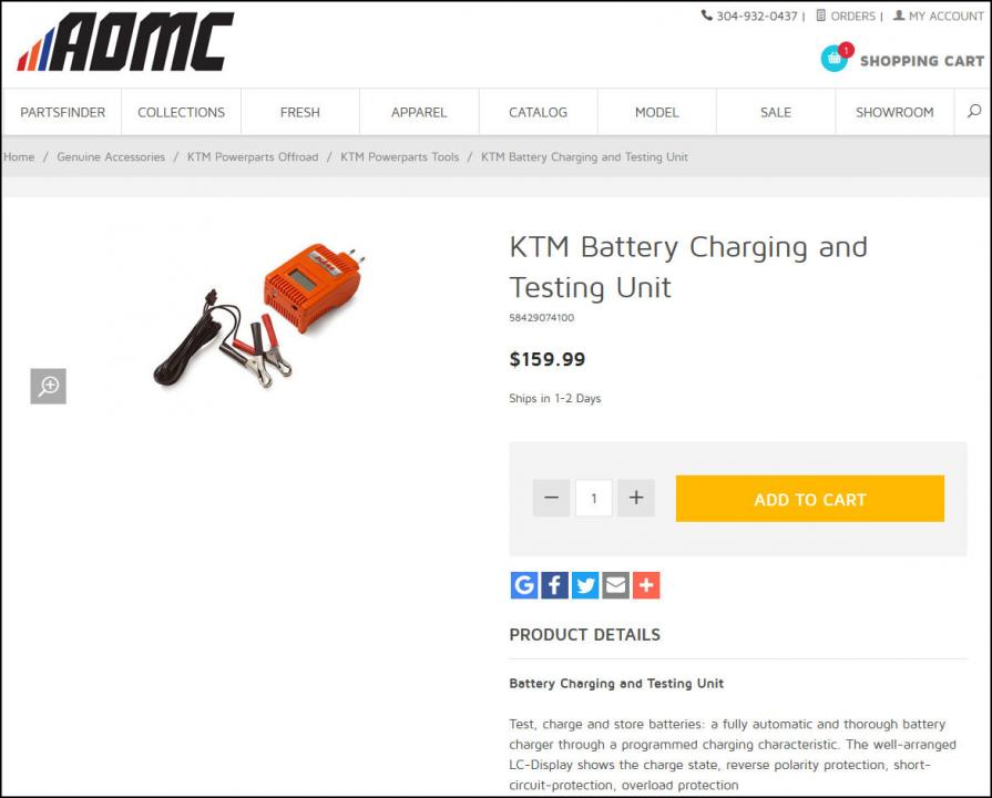 2016 450 factory edition: how to charge samsung c22s (lifepo4) li