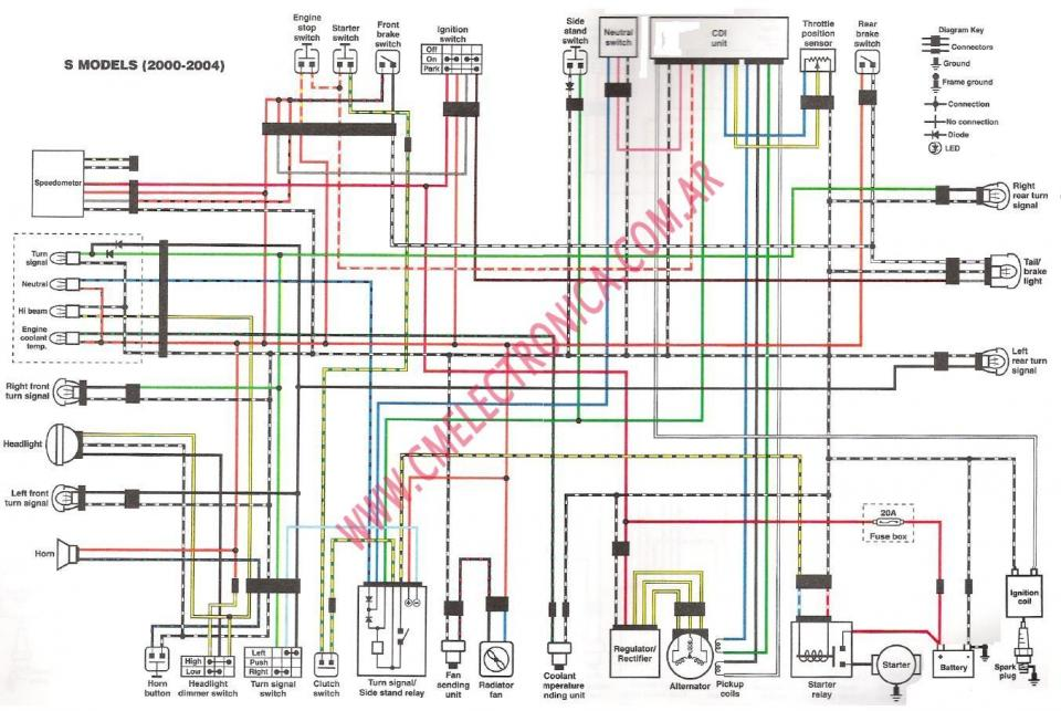 suzuki quadsport z400 wiring diagram suzuki wiring diagrams