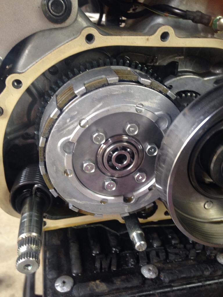 Manual clutch kit in klx110 how much to ugh ten the screws