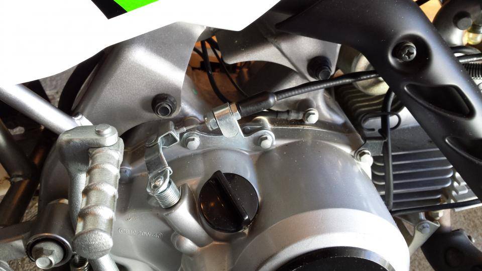 Manual clutch kit in klx110 how much to ugh ten the screws? - KLX