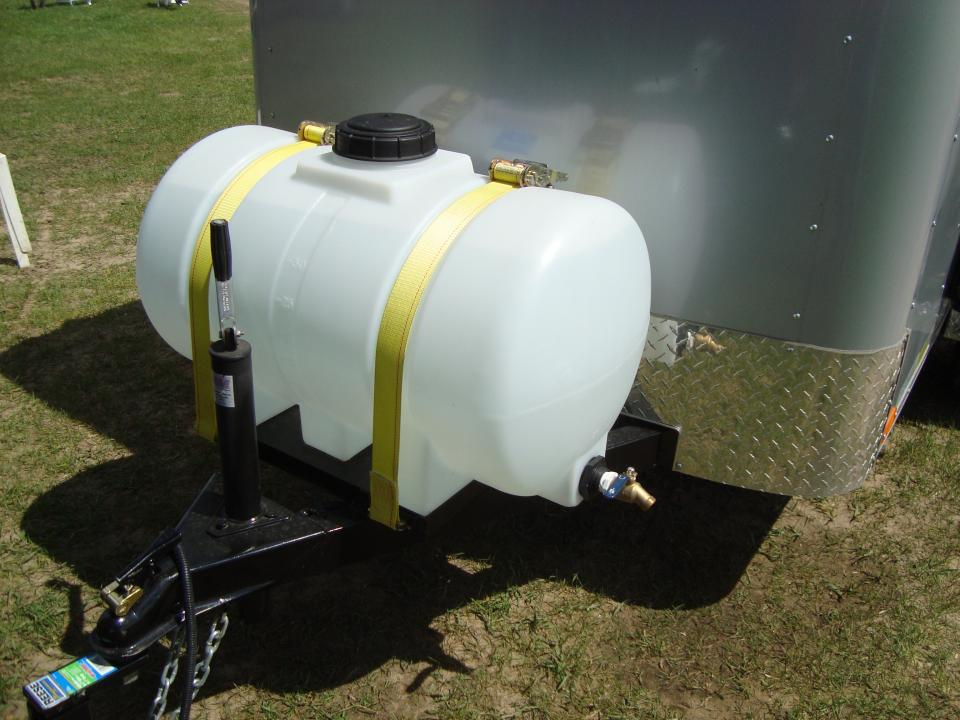 Portable Water Tank for Enclosed Trailer - Trucks, Trailers