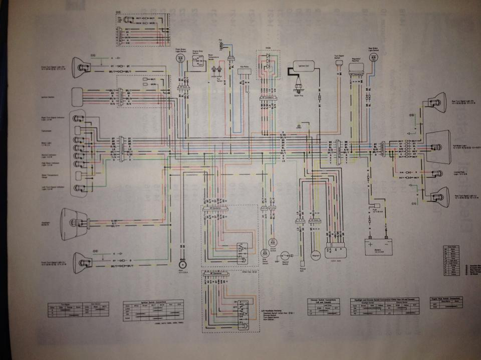 Wiring Diagrams - Klr  Klx 600  650