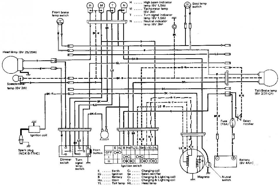 71 Suzuki Ts 125 Wiring Diagram - House Wiring Diagram Symbols •