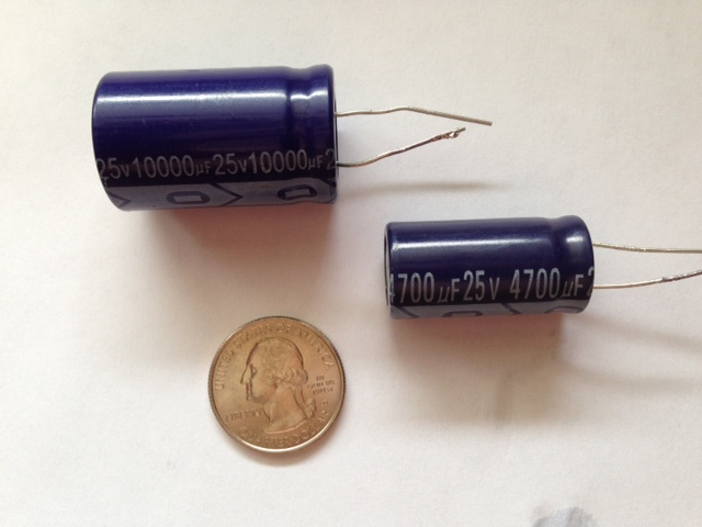 Can you hook up a capacitor backwards