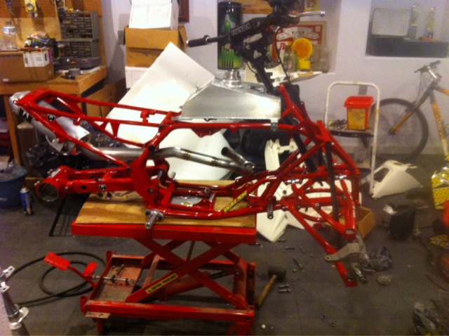 2013 Crf450r Walsh Hybrid Quad Crf450r Rx Thumpertalk