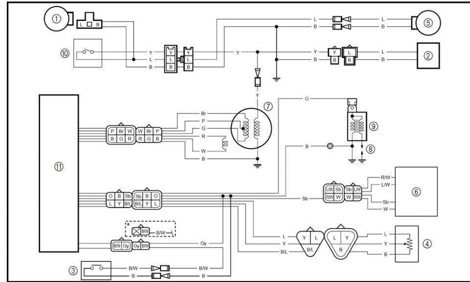 post-356205-0-06945100-1403417283 Yamaha Wire Stator Wiring Diagram on horn relay, delco alternator, start stop switch, cbb61 fan capacitor,