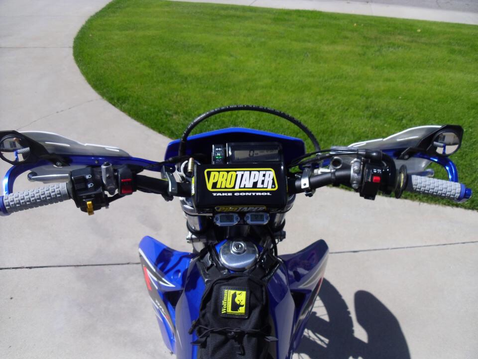 Hand guards with mirrors - DRZ400/E/S/SM - ThumperTalk