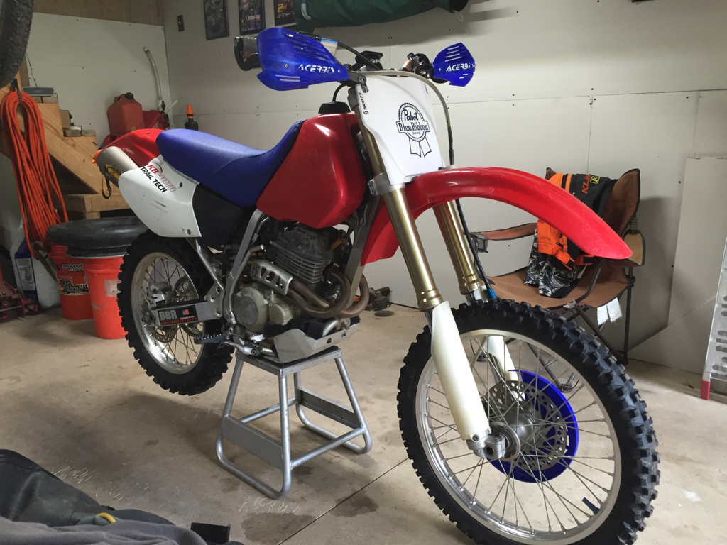Help with XR250R fork conversion - XR250R & XR400R - ThumperTalk