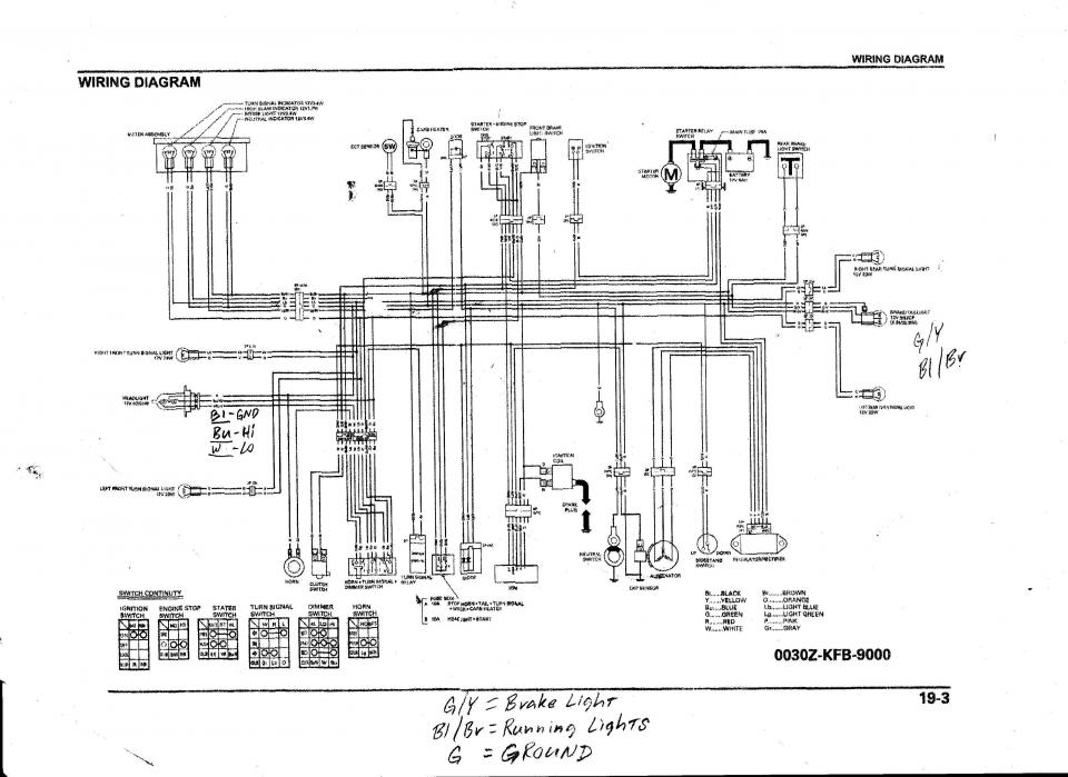 2003 honda crf230f wiring diagram