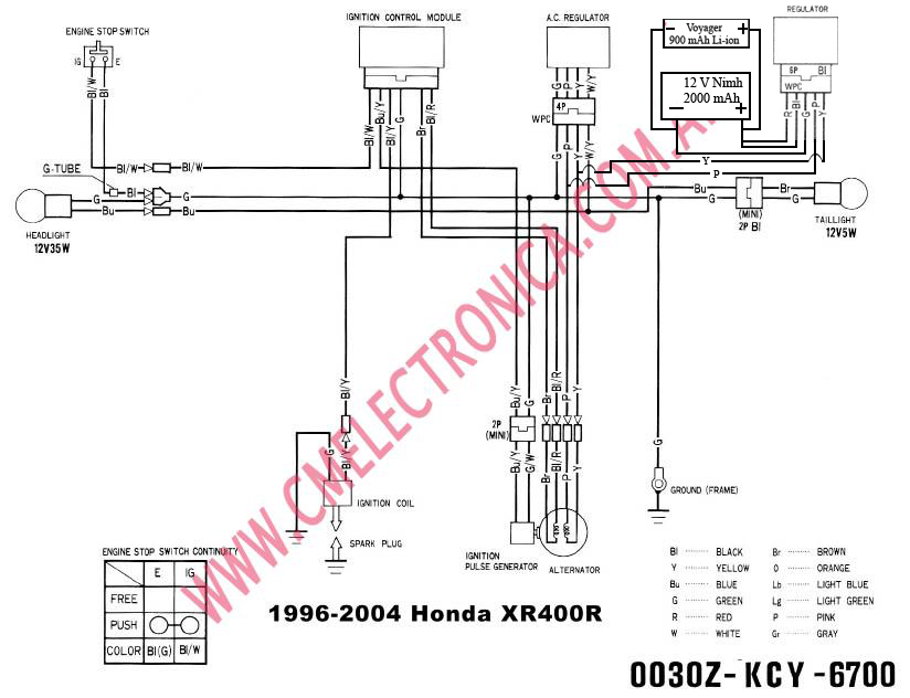 Wiring Diagram For Honda Xr400r - Search Wiring Diagram for ... on honda express wiring diagram, honda z50 wiring diagram, honda cbr600rr wiring diagram, honda shadow wiring diagram, honda passport wiring diagram, honda motorcycle wiring diagram,