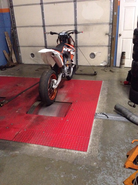 Dyno Results For Ktm  Sx