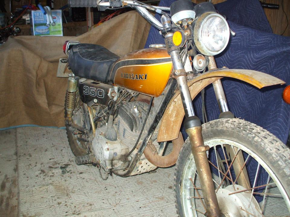 1974 big horn pictures then and now kawasaki 2 stroke thumpertalk