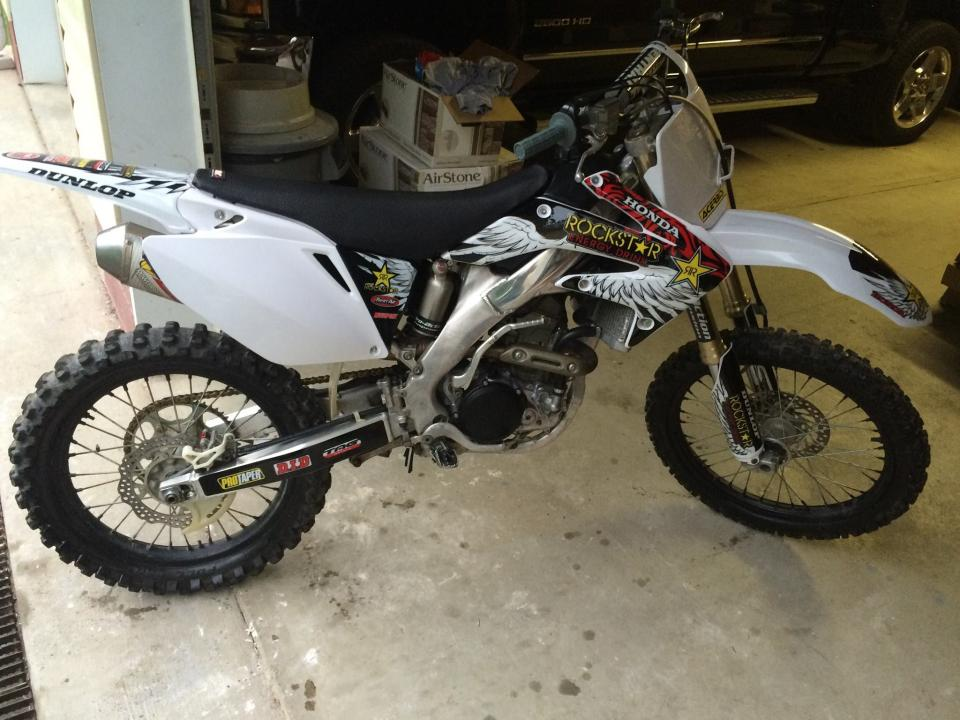 how to start a crf250r