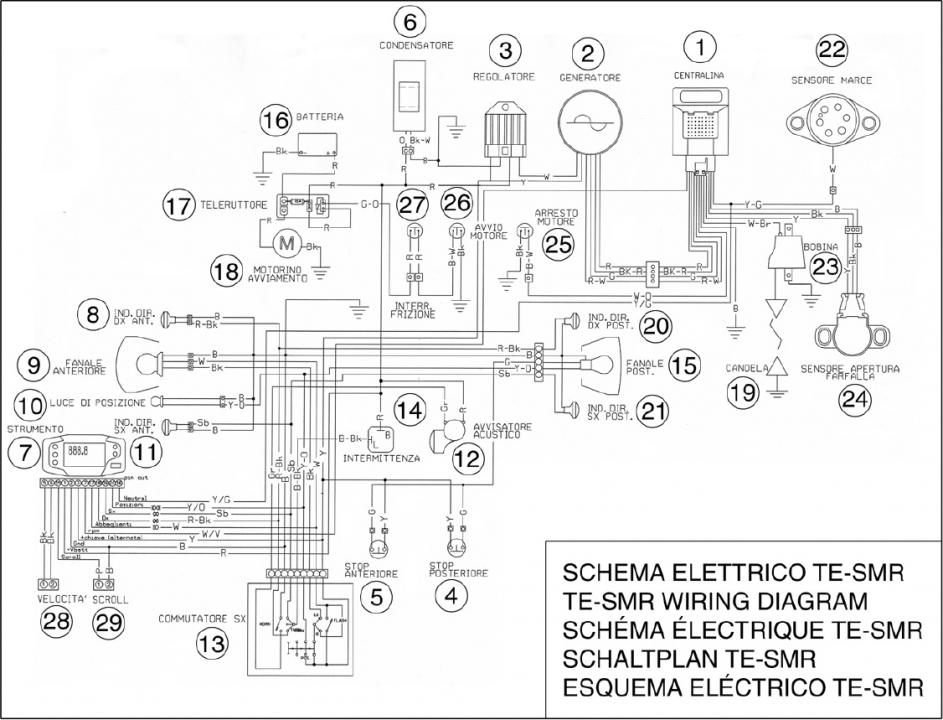 2006 Smr510 Electrical Confusion