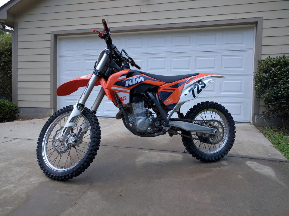 2014 KTM 450 SX-F Starting Issue and Accel Tip-in Fuel - 250/350/450 ...