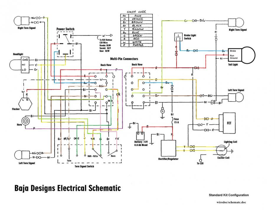Baja Designs Wiring Diagram - Wiring Diagram Option on baja 90 engine diagram, baja designs honda, baja designs dual sport kit, baja designs regulator, baja designs parts, baja designs connector, baja scooter 48 volt wiring schematic, baja motorsports wiring-diagram, baja designs horn, baja designs lights, baja designs headlight, baja 50cc four wheeler wire diagram, baja mini bike wiring, baja designs speedometer,