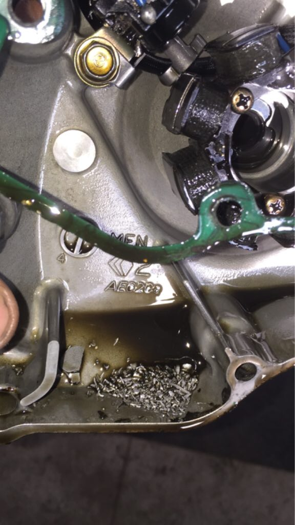 seized my bike today   then it unseized   why? - CRF450R/RWE