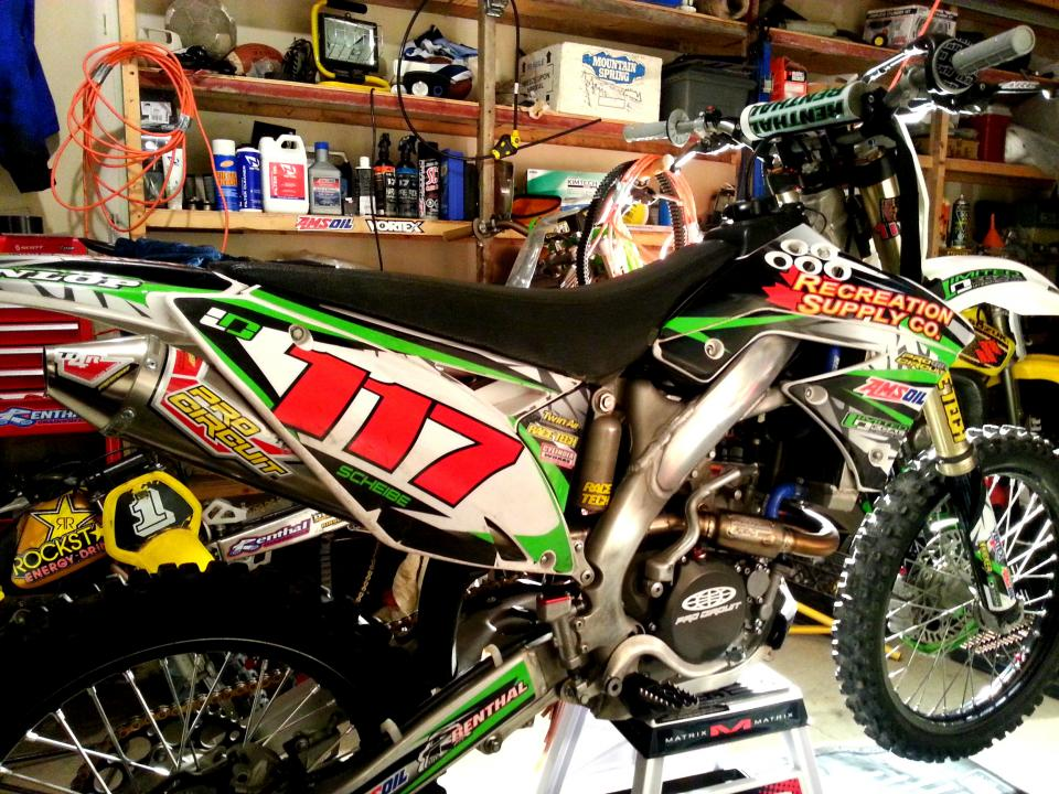2010 kx250f Full Motor Rebuild! - KX250F - ThumperTalk