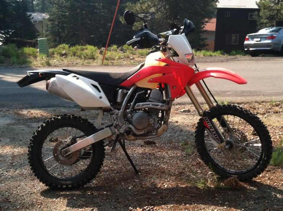 Finished the Wife's bike - CRF150RB Dualsport Enduro - CRF150R/RB ...