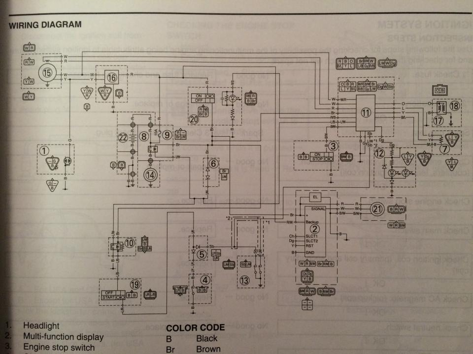 Yamaha Wr 250 Wiring Diagram Water Pump Fuse Box Truck 7 Pin ... on