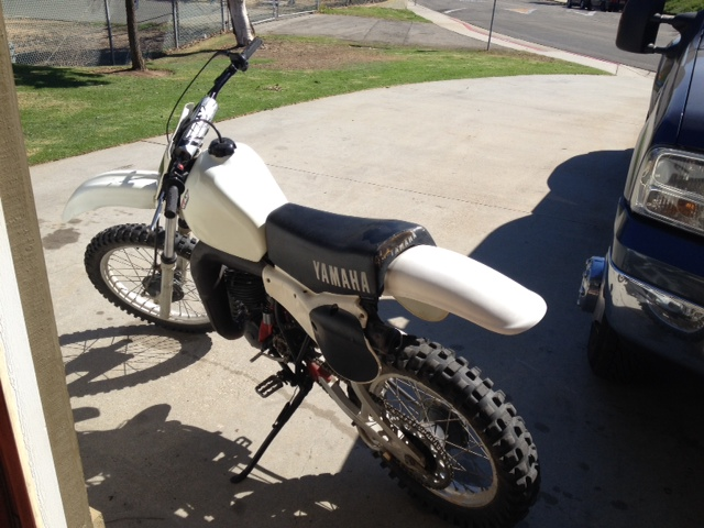 1982 YZ250 Yamaha 2 Stroke ThumperTalk