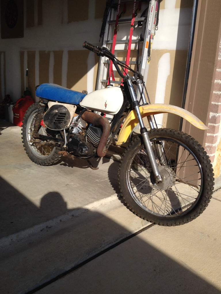 Vin numbers on frame to ID a bike? - Vintage Dirt Bikes - ThumperTalk