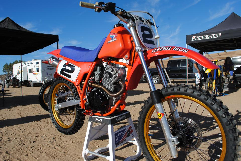 Honda Crf 80 >> Modified XR200 Spied at Local Vintage MX - XR/CRF 80-200 ...