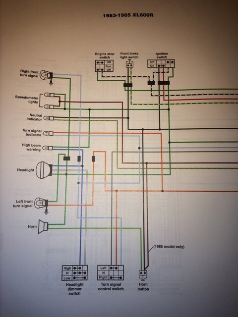 Xr600r Wiring Diagram - Wiring Diagram Bookmark on