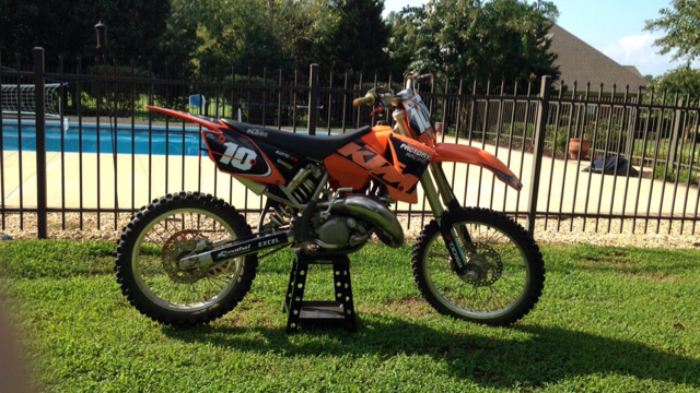 Sell a 2004 KTM 125 sx for 600? Or keep - What Motorcycle