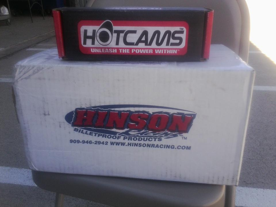 04-09 CRF250R CRF 250R 250X CRF250X Stage 2 TWO Hotcam Hot Cam /& Timing Chain