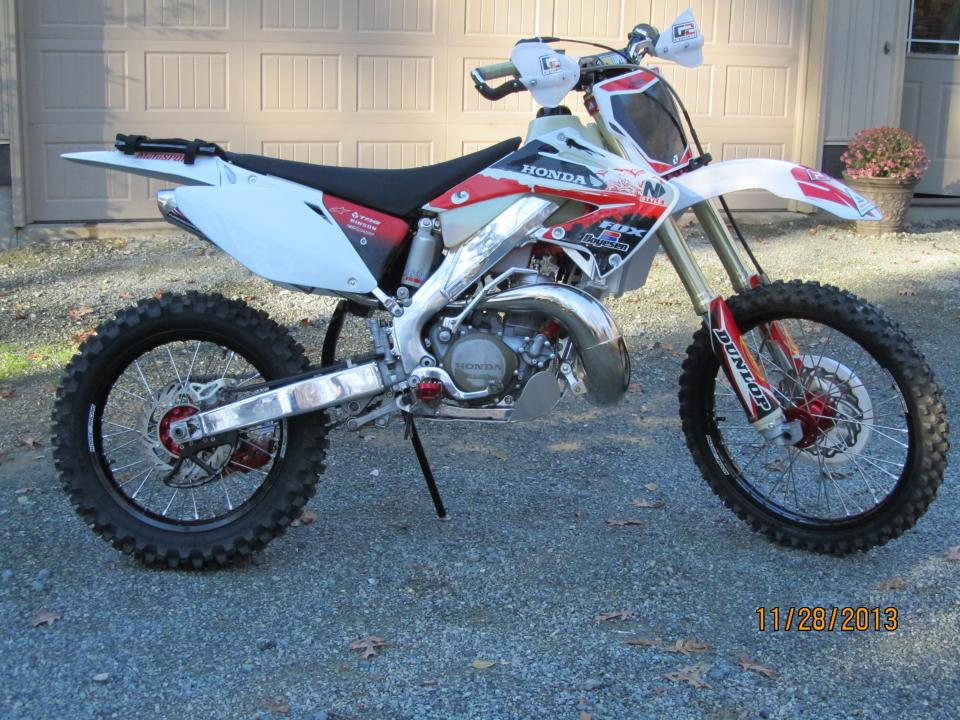 Show us your enduro/woods/hare and hound cr 250/125/500[really 500 woods bike!] - Page 7 - Honda ...