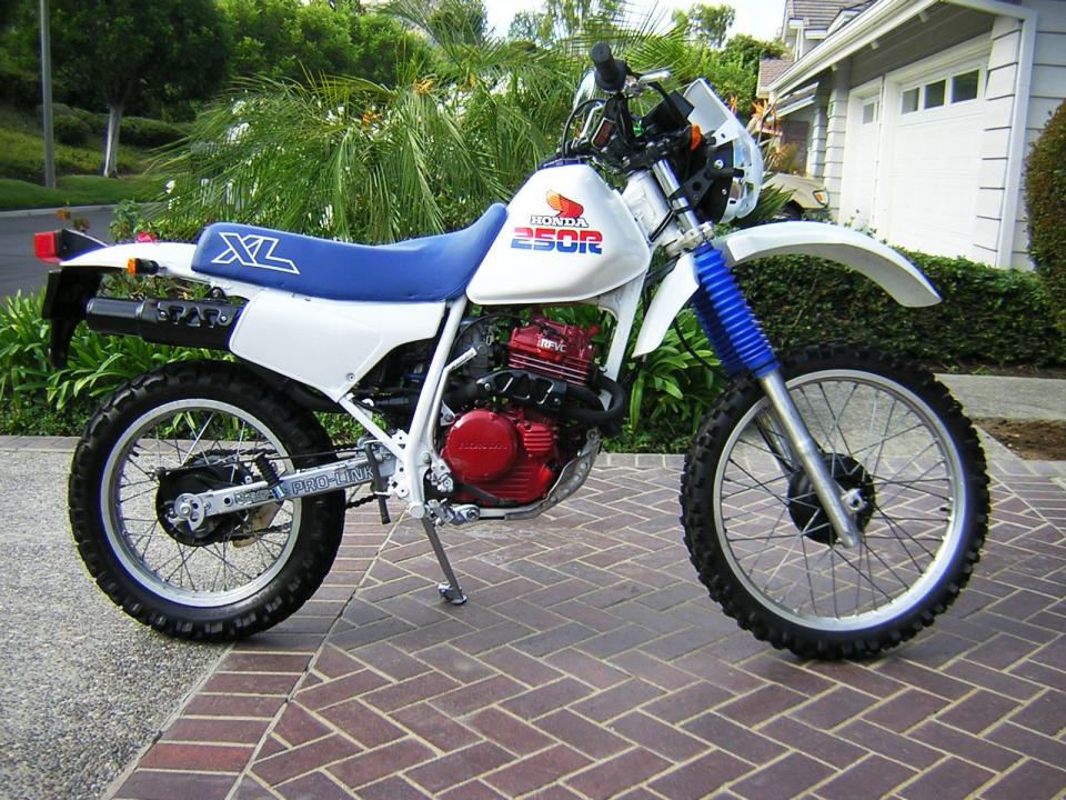 Bought a 1986 XL 250 R for my son - XR250R & XR400R