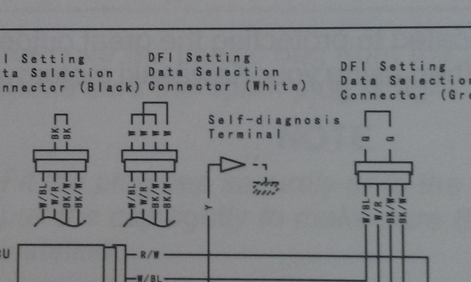 2013 kfx 250 need the map plugins kx250f thumpertalk kx 250 2 stroke 2014 plastic i take it they didn't give you the manual either? it shows them in wiring diagram if you are savvy with soldering and simple wiring you can use a dpdt 3