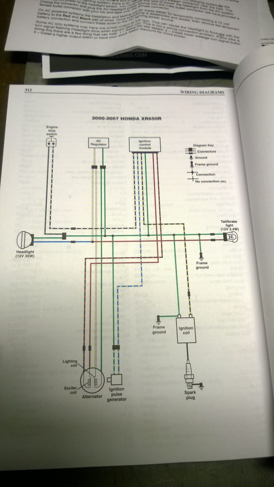 Ricky Stator Dual 100Wt Stator Wiring Question - XR600R ... on