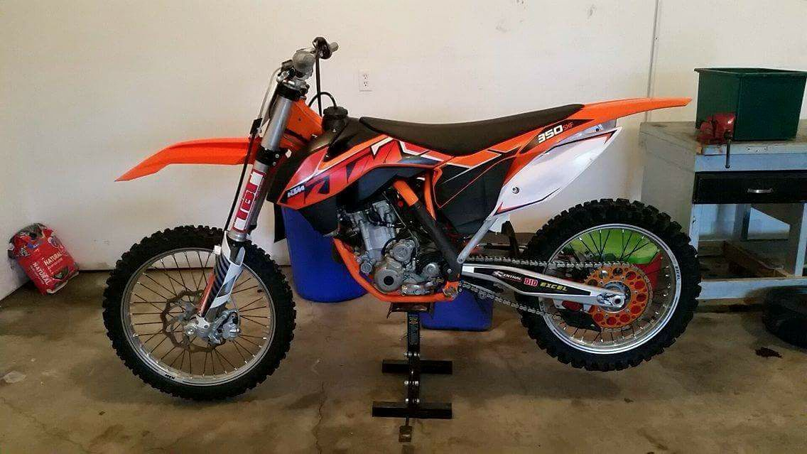 2014 KTM 350 SXF Popping and Starting issue - 250/350/450